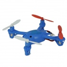 Brilink BH06 Mini 2.4G Radio Control 4-CH Quadcopter R/C Aircraft 3D Tumbling with 6-Axis Gyro - Blue - R/C Airplanes and Quadcopters Hobbies and Toys