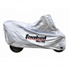 TANKED Motorcycle All-Weather Cover - Silver (Size S)