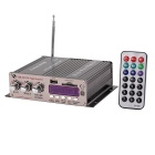 """1.8"""" LED 160W Hi-Fi Stereo Amplifier MP3 Player w/ FM / SD / USB for Car / Motorcycle"""