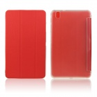 ENKAY ENK-7041 PU Leather Case w/ Stand for Samsung Galaxy Tab Pro 8.4 T320 / T321 - Red