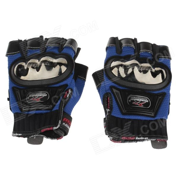 Mad Bike MAD-04S Non-slip Body Building Sports Cycling Half Finger Gloves - Black (Size-M)