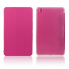 ENKAY ENK-7041 PU Leather Case w/ Stand for Samsung Galaxy Tab Pro 8.4 T320 / T321 - Deep Pink