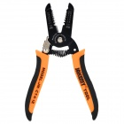 "Jakemy JM-CT4-12 7"" Wire Cutter Stripper - Black + Orange"