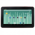 "Q92 9"" Dual Core Android 4.2.2 Tablet PC w/ 512MB RAM, 8GB ROM, Dual-Camera - Red"