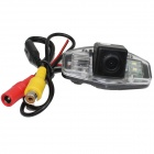 LsqSTAR ST-820 CCD Wide Angle Car Rearview Camera w/ 2-LED for Honda Accord - Black