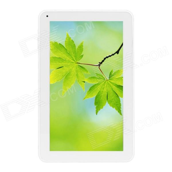 GA10H 10.0 Dual Core Android 4.2 Tablet PC w/ Wi-Fi / Dual Camera / 512MB RAM / 8GB ROM - White a70m 7 0 android 4 2 dual core tablet pc w 512mb ram 8gb rom wi fi dual camera blue