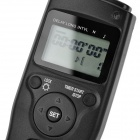 "O6 1.2"" LCD Wired Digital Timer Remote Controller for Olympus DSLR Camera - Black"