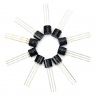 30V NPN Triode Power Transistor Package Transistor - Black (10PCS)