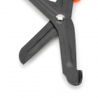 EDCGEAR EMT Survival Rescue Stainless Steel Scissors - Black + Orange
