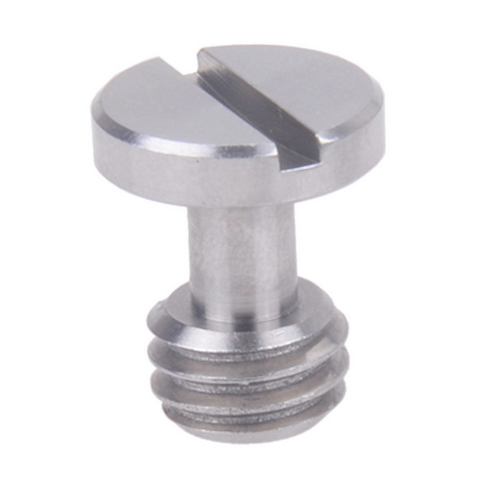 3/8 Stainless Steel Screw for Tripod Quick Shoe - Silver