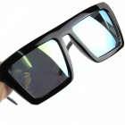 Fashionable Mercury Reflector Sunglasses - Black