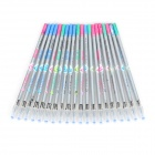 Replacement 0.38mm Gel Pen Refills - White + Multicolored (20 PCS)