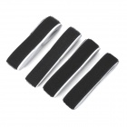 Adhesive Tape Magic Velcro Strap - Black (2 x 50cm)