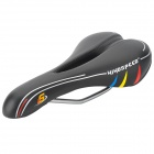 Windspeed MK1 Hollow PU Bike Seat Saddle - Black