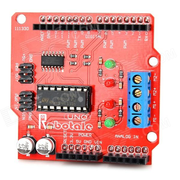 Robatale L293B Motor Shields (Arduino Compatible) Module - Red (7V)