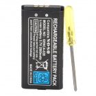 "Portable GENCA-028 ""2000mAh"" Rechargeable Battery w/ Screwdriver for Nintendo NDSi"