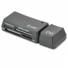 All-in-1 USB 2.0 Card Reader (Color Assorted)