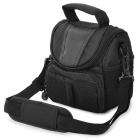 Convenient Nylon Camera / DV / DSLR Shoulder Bag w/ Handle for Sony NEX5R - Black