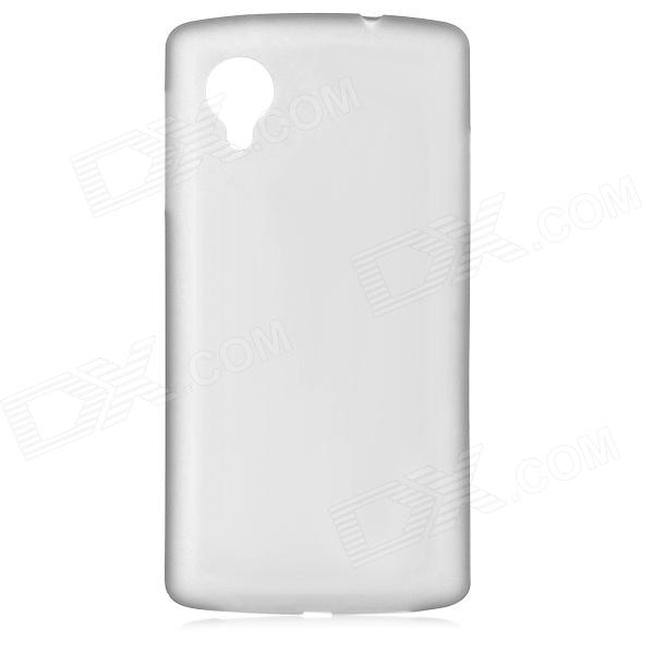 Ultra-thin 0.3mm Protective Plastic Back Case for Google Nexus5 - Translucent Grey антракт 2018 10 03t19 00