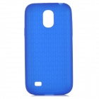 Protective Silicone Back Case for Samsung Galaxy S4 Mini i9190 - Blue