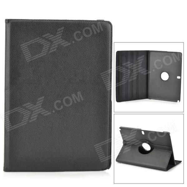 Protective 360 Degree Rotation PU Leather Case for Samsung Galaxy Note Pro12.2 P900 / P905 - Black