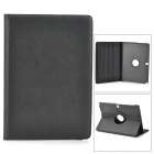 Protective 360 Degree Rotation PU Leather Case for Samsung Galaxy Note 12.2 P900 - Black