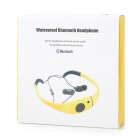 Outdoor Swimming Diving Stereo Bluetooth v2.1 Headphones Headset w/ Microphone - Black