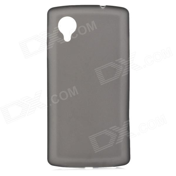 0.3mm Ultrathin Protective Plastic Back Case for Google Nexus 5 - Translucent Black