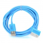 USB Data Transmission Cable for Samsung P1000, P1010, P6200, P6800, P7300, P3100, P3110 - Blue (2m)