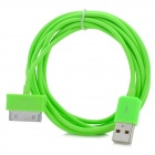 USB Data Transmission Cable for Samsung P1000, P1010, P6200, P6800, P7300, P3100, P3110 - Green (2m)