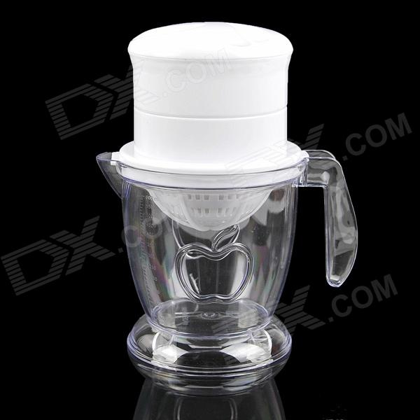 Multi-Purpose Manual Juicer - White new portable mini juice mixer household fully automatic vacuum preservation juicer fruit vegetables juice maker