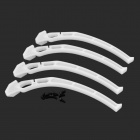 DIY ABS Undercarriage Foot Stool for DJI F450 / F550 - White (4 PCS)