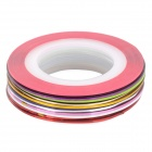 12-Color Nail Painting Drawing Self-adhesive Threads Lines