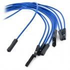 Lson LS-10 Double Dica Dupont Cable - Deep Blue + Black
