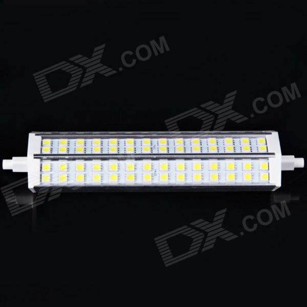 R7S 12W 580lm 6000K 84-SMD 5050 LED White Light Dimmable Corn Lamp (85~265V) r7s 15w 5050 smd led white light spotlight project lamp ac 85 265v