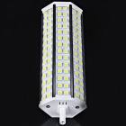 R7S 12W 580lm 6000 K 84-SMD 5050 LED blanche lumineuse maïs Dimmable lampe (85 ~ 265V)