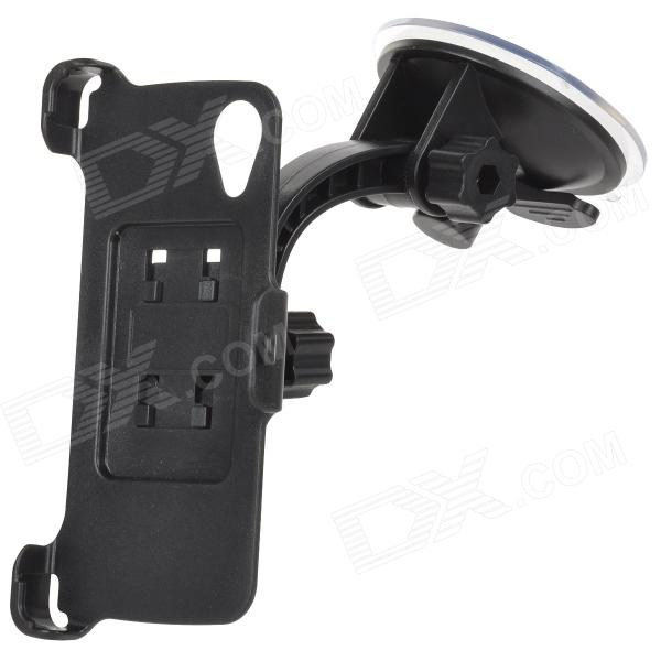 +158 Style 360 Degree Rotate ABS Suction Cup Car Mount Holder for Google Nexus5 - Black сетевое зарядное устройство cellular line achphmicrousb black