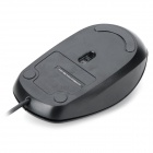 USB 2.0 1000dpi WiVermelho Optical Mouse para Dell ms111 - preto ( cabo - 185 centímetros )