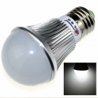 ZHISHUNJIA E27 8W 680lm 6000K 16 x SMD 5630 LED White Light Lamp Bulb - Silver + White (85~265V)