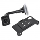 ''I'' Style ABS Suction Cup Car Mount Holder for Google Nexus 5 - Black