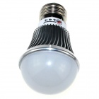 ZHISHUNJIA E27 8W 680lm 3500K 16 x SMD 5630 LED Warm White Light Lamp Bulb -Silver + White (85~265V)