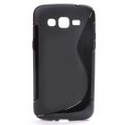 """S"" Style Protective TPU Back Case for Samsung Galaxy Grand 2 G7106 - Black"