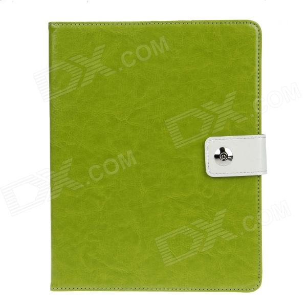 Stylish PU Leather Case Cover Stand w/ Auto Sleep / Card Holder for IPAD 2 / 3 / 4 - Green bq mobile bq bqs 5050 strike selfie розовый