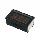 "Produino ST Master Chip 0.56"" LED DC 3-Digital Display Digital Voltmeter- Black (DC 0~100V)"