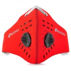 NUCKILY PK01 Cycling Dust-proof Face Mask - Red (Free Size)