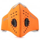 NUCKILY PK01 Cycling Dust-proof Face Mask - Orange (Free Size)