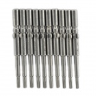 ABC-T9 Electric Screwdriver Torx Bits Set - Silver Grey (5mm-Shank / T9)