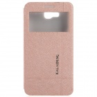 KALAIDENG Protective PU Leather Case Cover Stand for HUAWEI Honor 3X (G750-T00) - Golden