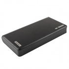 "GDW ""20000mAh"" Dual USB External Battery Charger Power Bank w/ USB Cable for IPAD / IPHONE - Black"
