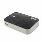 GDW « 12000mAh » Dual USB externe batterie chargeur Power Bank w / Cable USB pour IPAD / IPHONE - noir